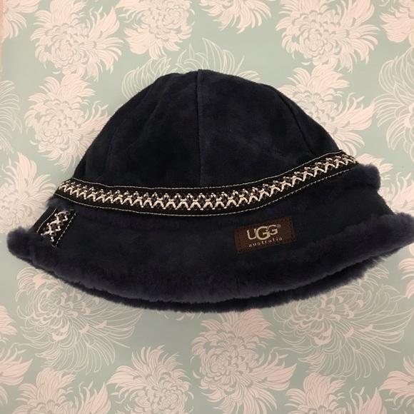 c6ab47a0d34 UGG suede leather hat. M 5c16d2799519965df71de398. Other Accessories ...